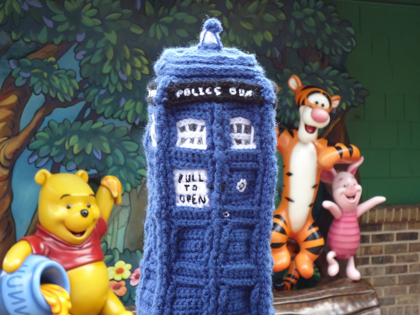 A stuffed Tardis