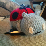 Stuffed Catbug - $40
