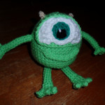 Stuffed Mike Wazowski - $40