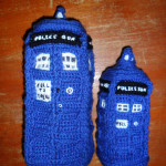 Stuffed TARDIS - Large $160 / Small $80