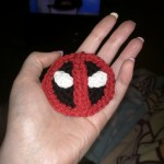 Deadpool Hair Clip - $5