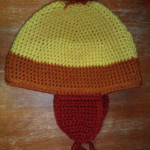 Autumn Coloured Hat - $30