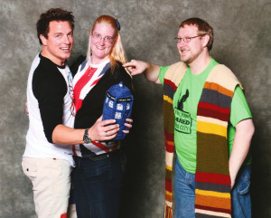 John Barrowman and us small