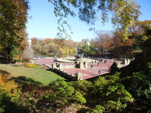 Bethesda Fountain in Central Park. Photo taken by Jen of JenEric Designs.