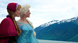 Anna and Elsa from Disney Cruise Line www.disneyparks.disney.go.com