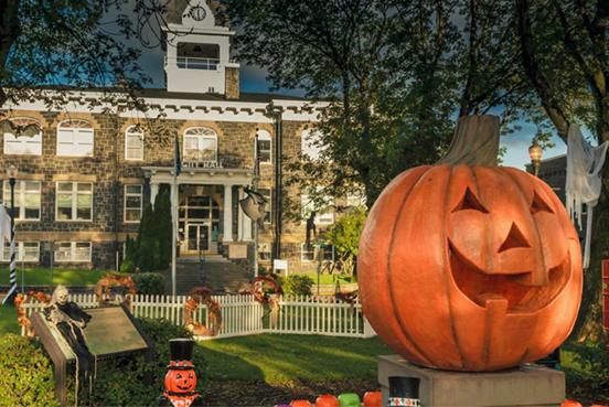 St Helen's in Oregon dedicates October to Halloweentown. Image from their Facebook page.