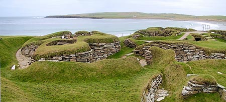 Skara Brae. Image courtesy of Orkneyjar.com