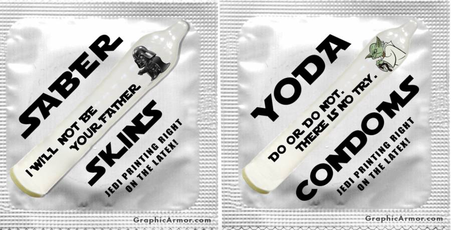 Star Wars condoms? Why not? Image from mic.com
