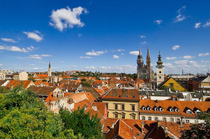 Zagreb, Croatia's northern capital. Image from Lonely Planet.