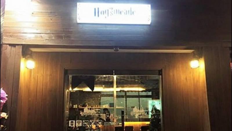 South Korea themed cafes