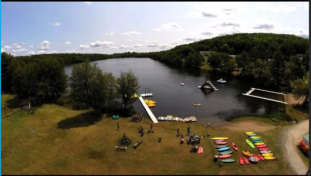 Independent Lake Camp is a children's camp, but ENC has booked it for a week this June. Image screen captured from www.epicnerdcamp.com