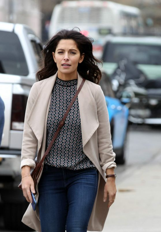 Sarah Shahi – Filming 'Nancy Drew' in New York City 3/19/2016 - celebmafia.com