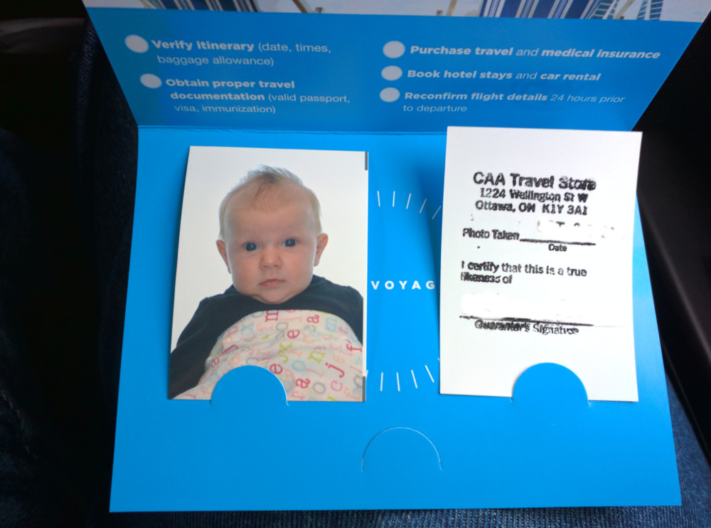 Infant Passport