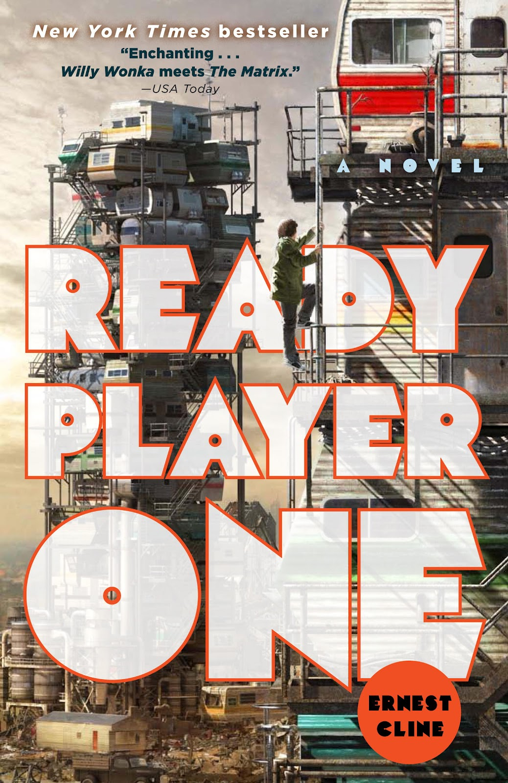 Ready Player One by Ernest Cline – Book Review