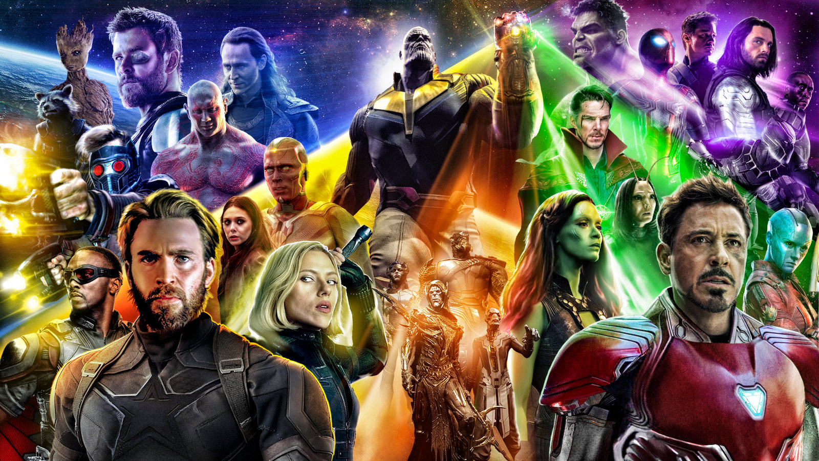 MCU, Infinity Stones, and Black Panther