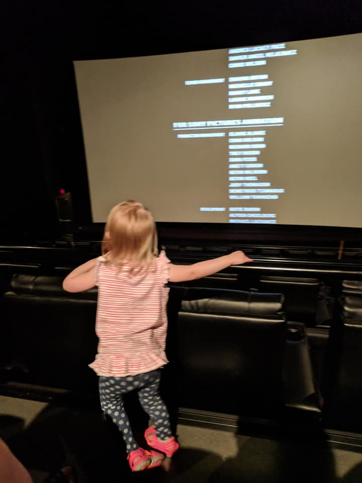 Movies with the Toddler Dragon
