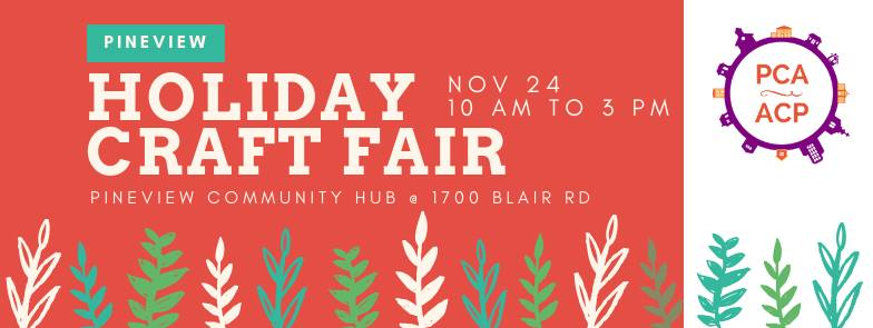 Pineview Holiday Craft Sale