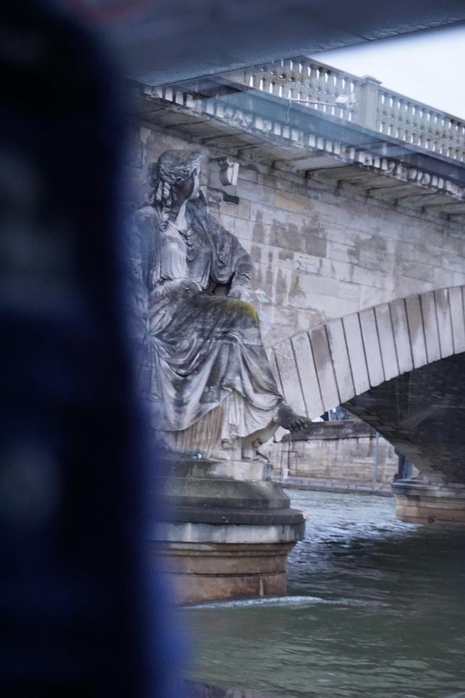 Statue under Bridge