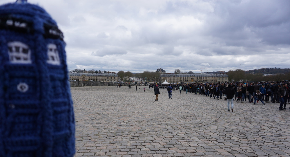 First sight of Versailles