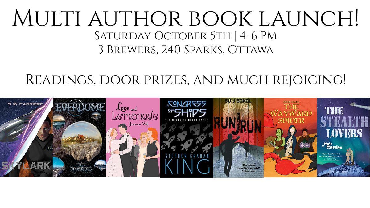 Multi-author book launch!